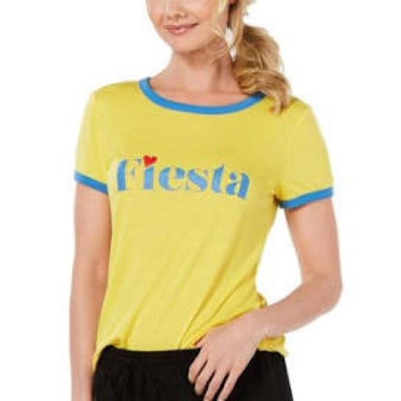 Jenni Womens Fiesta Comfy Sleepwear Sleep Shirt